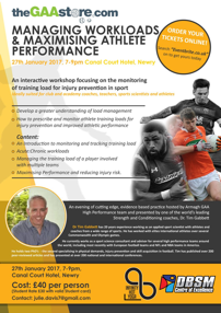 Tim Gabbett Workshop Friday 27th January Canal Court Newry 7pm-9pm