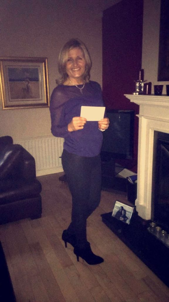 Lotto Jackpot scooped by Laura Magorrian