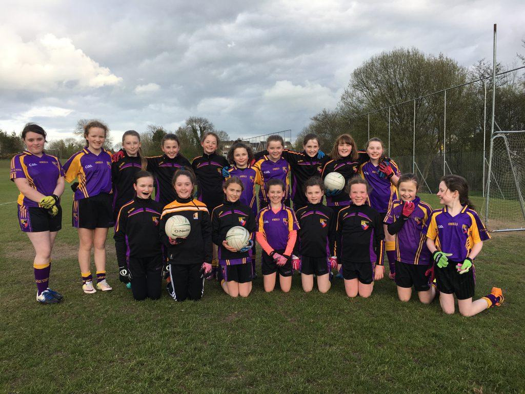 U12(Mid) Girls v Castlewellan