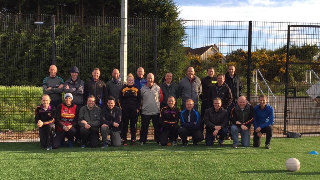 Ulster GAA coach session
