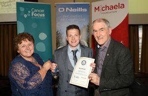 What an achievement Rory McGrath !!