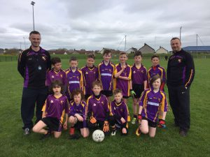 Carryduff U12s East Down league fifth round