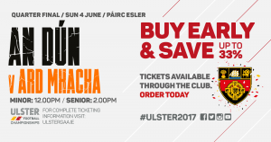 Ulster Senior Football Championship Down v Armagh