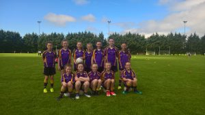 The U10 Girls travelled to Dungiven