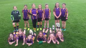 U10 Girls travel to Bredagh