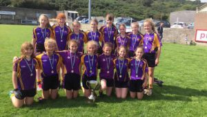 U12 girls clean up in Burren