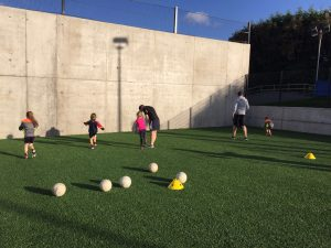 P2 & P3 Autumn football coaching