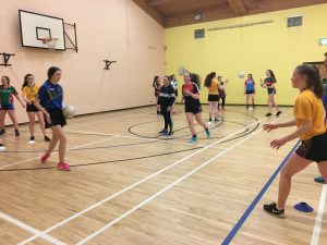 U16s were preparing for the U16 Winter League