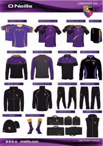 Club gear update