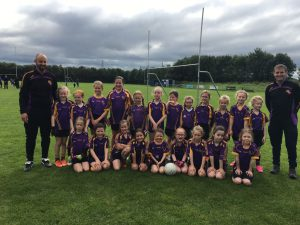 U8 Girls travel to St Galls for Blitz