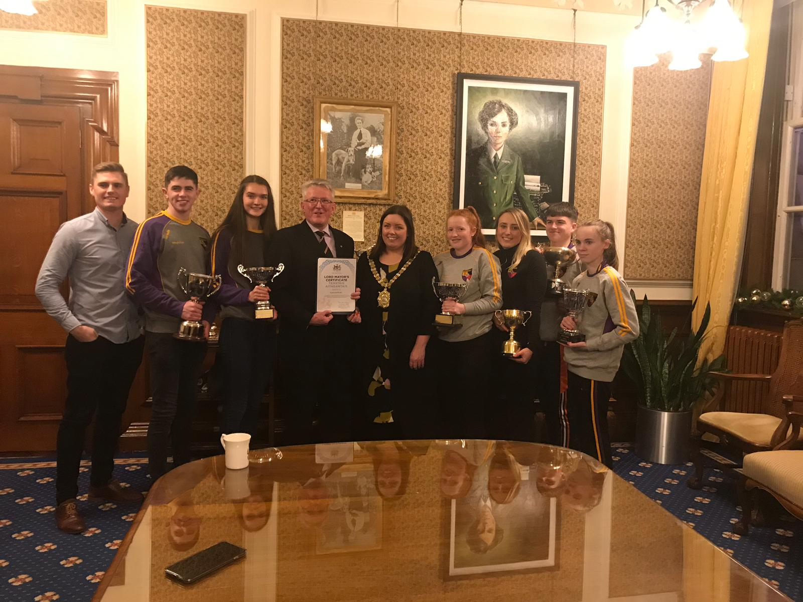Club honoured to visit City Hall