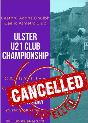 **match cancelled **