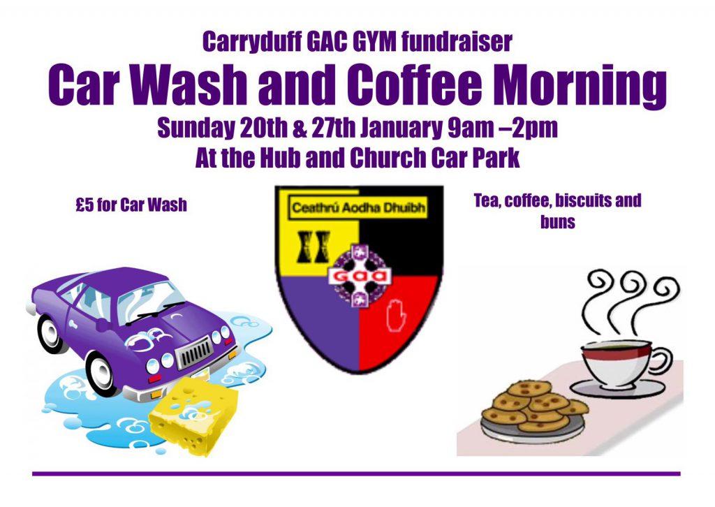Car wash & Coffee morning