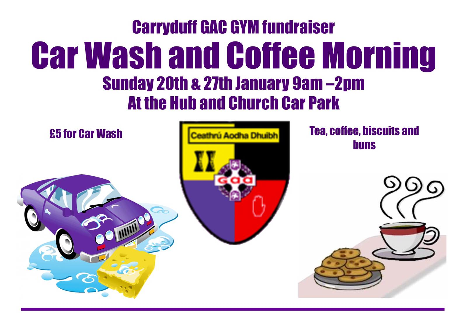 Car wash & Coffee morning