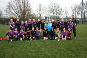 U12 girls travel to woodlands for Blitz