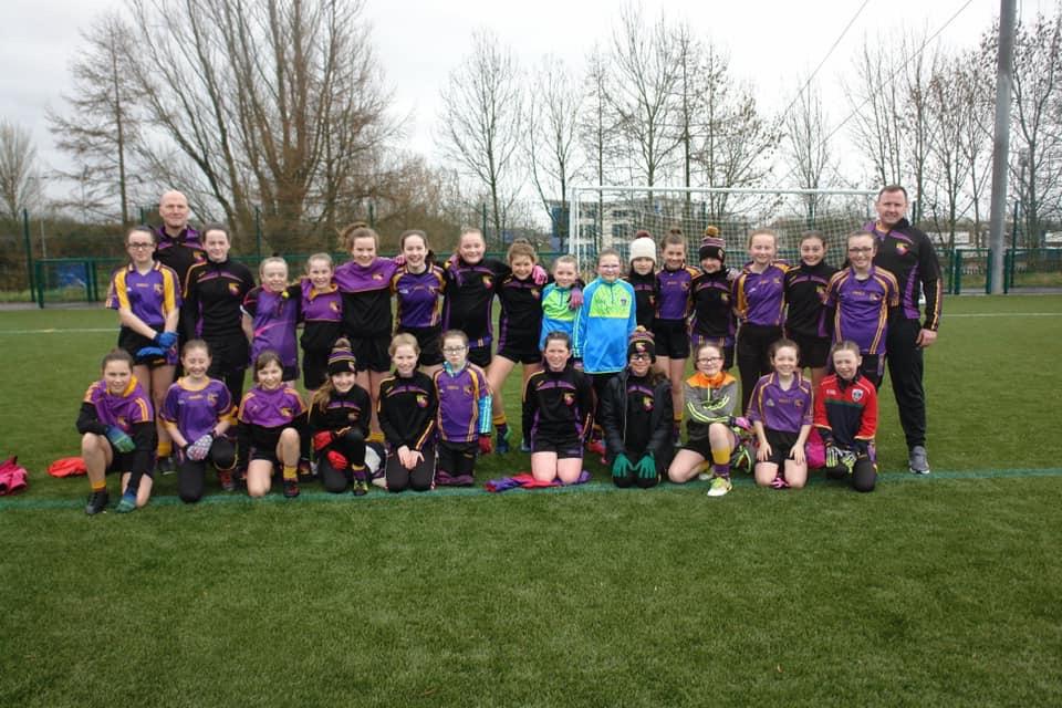 U12 girls travel to woodlands for Blitz