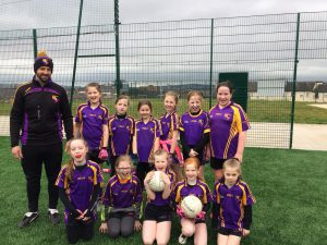 Our U10 girls attended their first Belfast Go Games blitzs of the season
