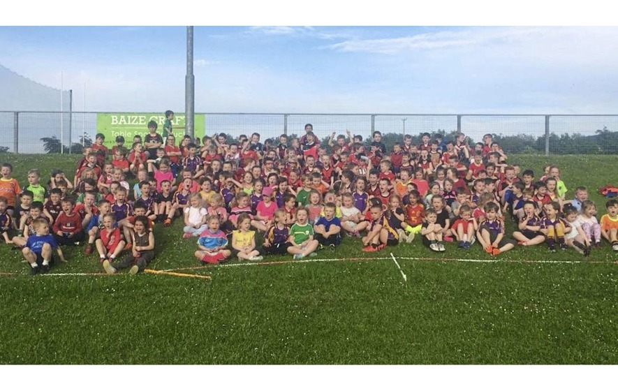 Record numbers of youngsters for Carryduff GAC academy