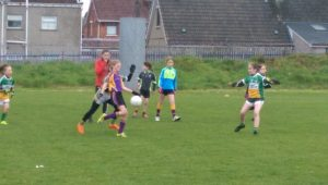 U10 girls travelled to St Patrick's Sarsfields