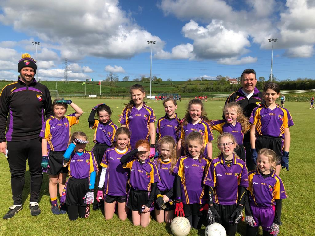 Our U10 girls travelled to Tullylish GAC