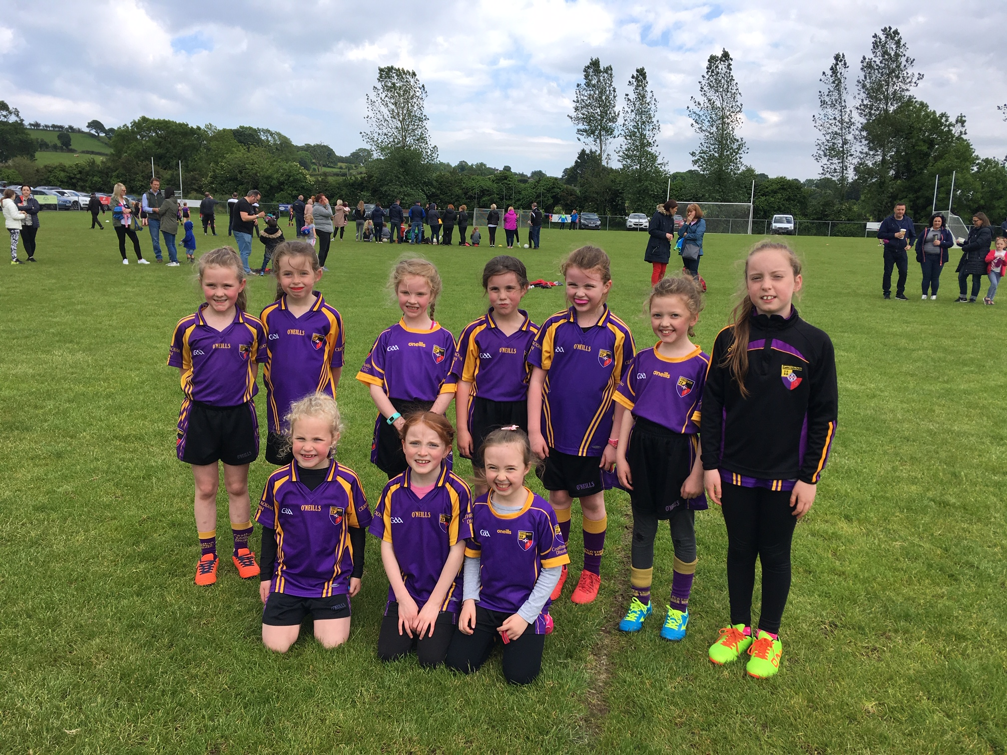 u8 girls travelled to Teconnaught