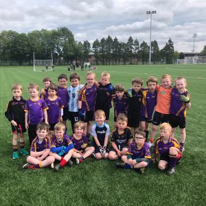 Nursery Academy attend their first blitz