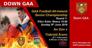 Down v Tipperary Qualifier