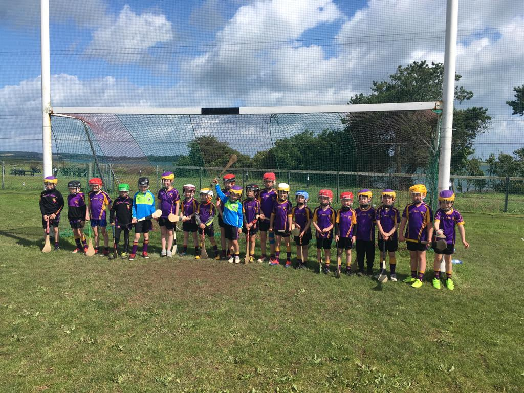 U8 Hurlers travel to Kilclief Blitz