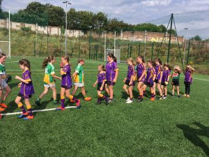 Carryduff U10 Girls – Go Games – Davitts GAC – Saturday 24th August