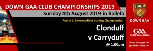 Championship dates for your Diary !