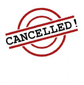 Nursery cancelled