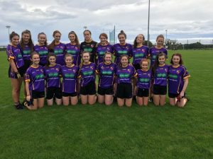 Minor B girls team played Ballymartin