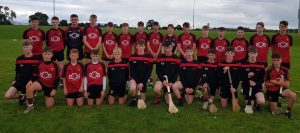 Carryduff U15 Down representatives