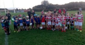 U8 Hurlers play Naomh Pol Home and Away!