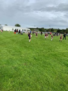 U8 ladies footballers travelled to Teconnaught