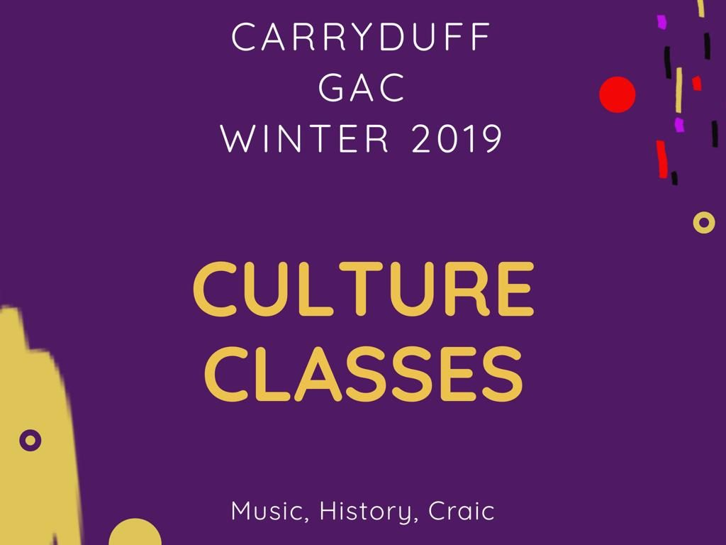 Culture classes need our help !