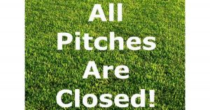 Grass Pitch closures